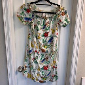 J. Crew Hawaiian Print Dress